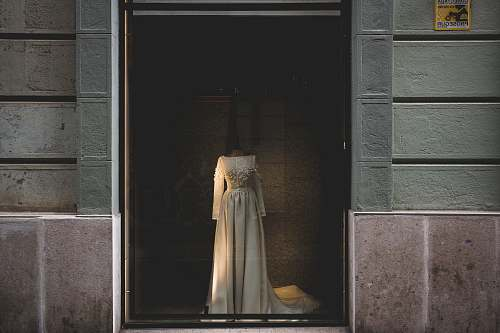 door white wedding gown photo boutique