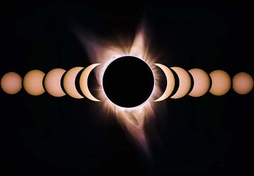 photo moon solar eclipse 3D wallpaper desktop wallpapers free for commercial use images