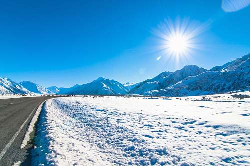 snow landscape photography of mountains covered with snow mountain