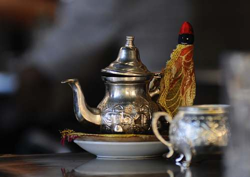 teapot gray stainless steel pot marrakech