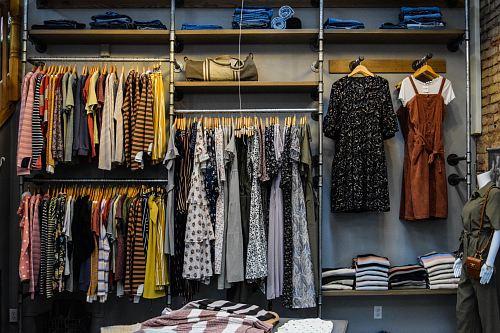 photo assorted-color clothes free for commercial use images
