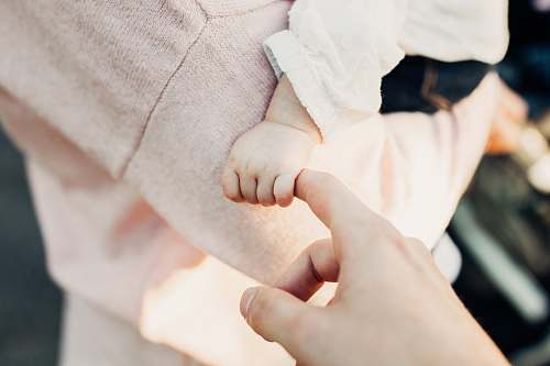 photo human person holding baby's hand person free for commercial use images