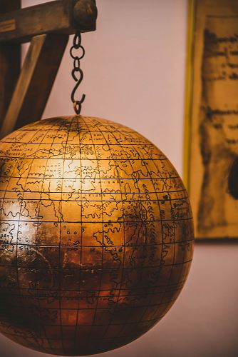 photo brown terrestrial globe free for commercial use images