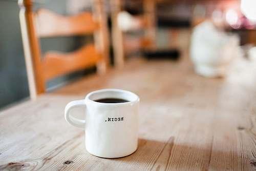 photo coffee white ceramic mug on table mug free for commercial use images