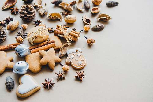 photo biscuit assorted-color-and-style ornaments christmas free for commercial use images
