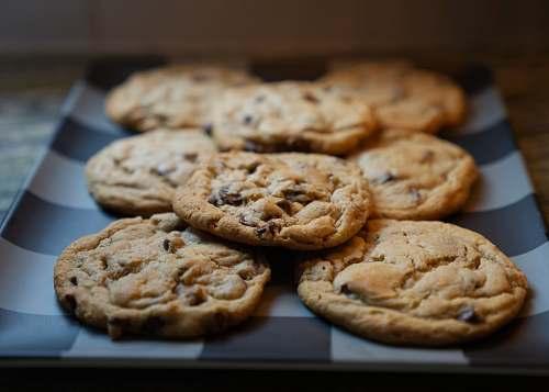 biscuit cookies on rectangular plate cookie