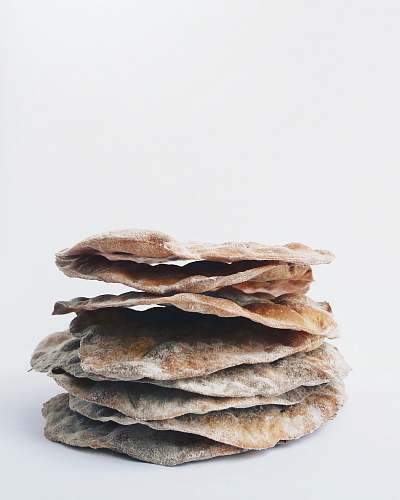 photo bread stack of flatbreads pancake free for commercial use images