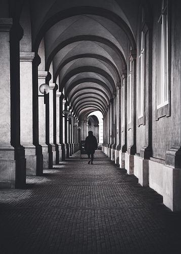 man near walls