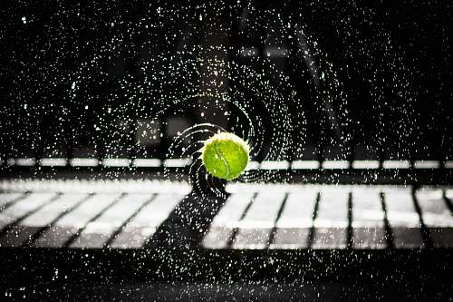 photo sport time lapse photo of tennis ball tennis ball free for commercial use images