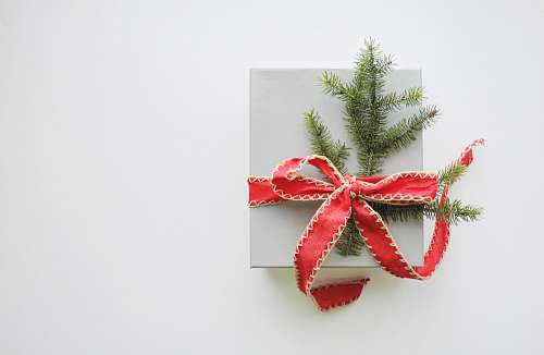 photo gift photo of white and red gift box holiday free for commercial use images