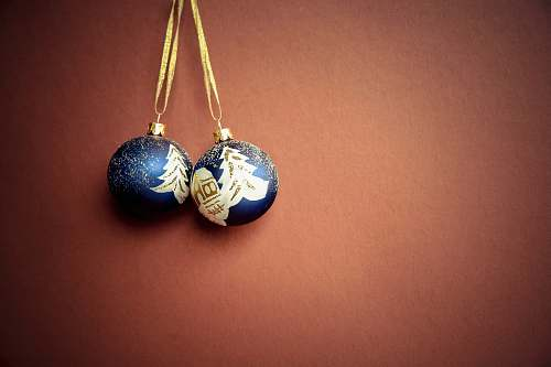 photo ornament two blue pendants earring free for commercial use images