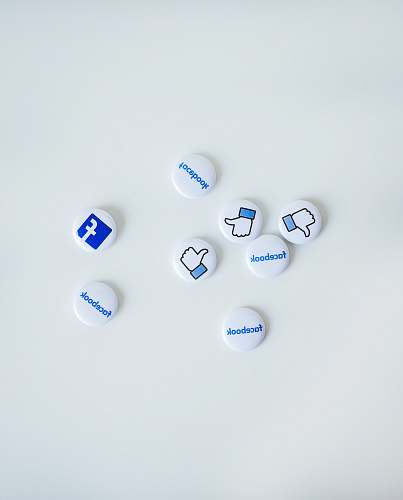 photo social media facebook button pins neonbrand digital marketing free for commercial use images