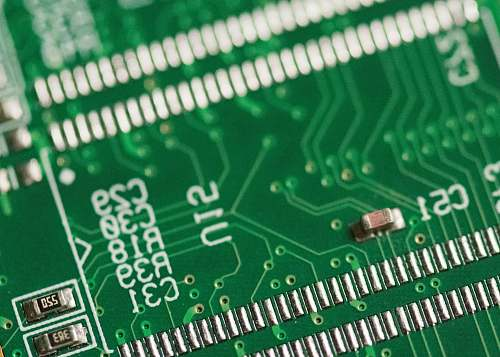 ram green circuit board macro