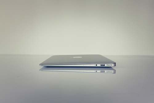 photo work MacBook Air on table usb free for commercial use images