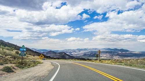 freeway gray concrete road highway