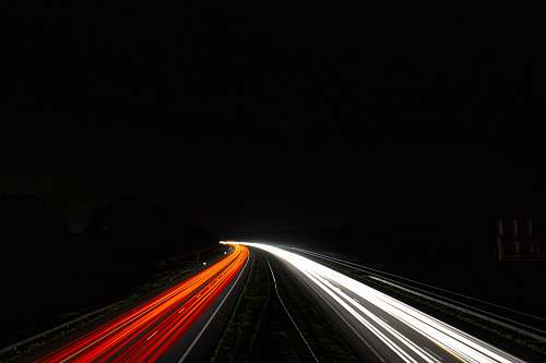 photo highway time-lapse photography of busy road light free for commercial use images