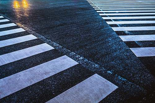 photo tarmac white and black street line photo zebra crossing free for commercial use images