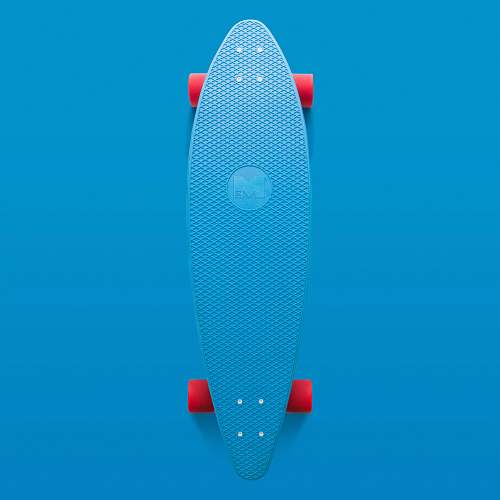 photo sports blue and orange longboard blue free for commercial use images