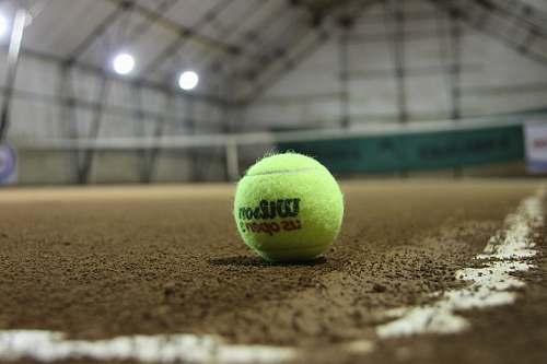 tennis green Wilson tennis ball tennis ball