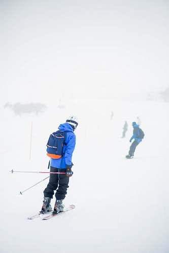 person man skiing on ice skiing