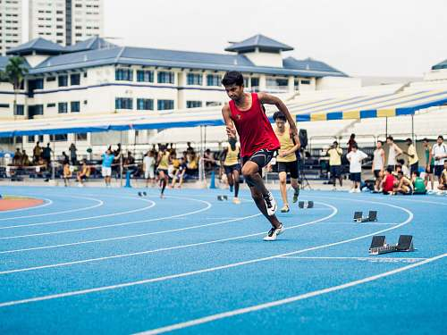 photo sports people playing track and field human free for commercial use images
