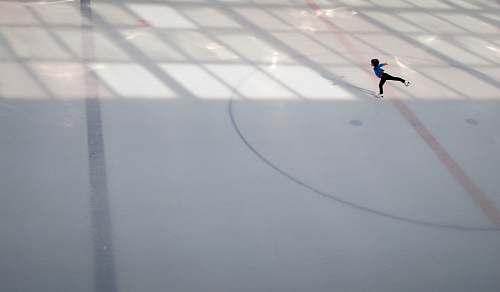 sports person doing ice skating skating