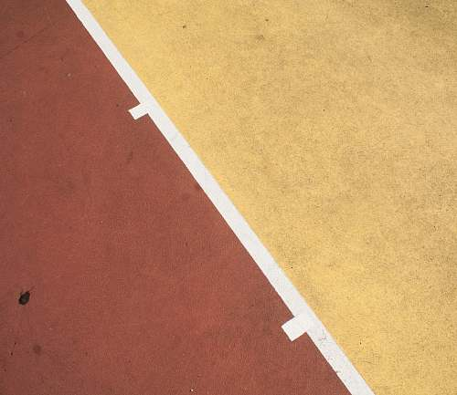 photo sports red and yellow concrete floor tennis court free for commercial use images