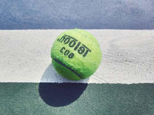 tennis green Teloon tennis ball ball