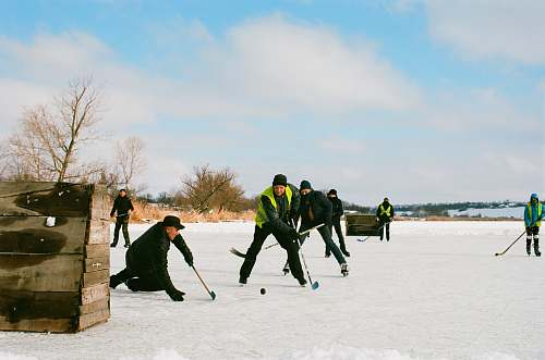 photo hockey people playing hockey people free for commercial use images