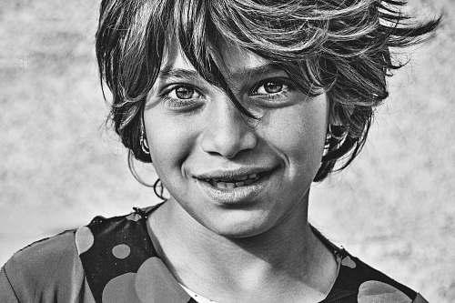 people grayscaled photo of girl human