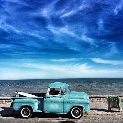 truck blue single cab pickup truck mar del plata