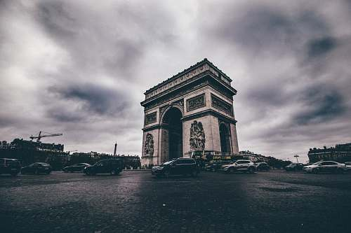 architecture Arc de Triomphe, Paris bell tower