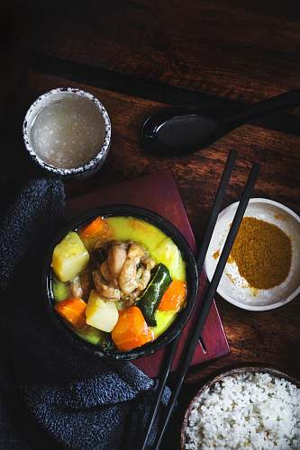 photo quezon city chicken curry with spices dish philippines free for commercial use images