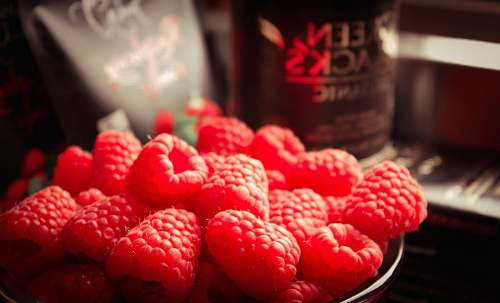 raspberry red raspberries fruit