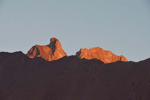 mountain brown mountain wallpaper