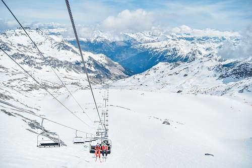 mountain snow mountains during daytime alps