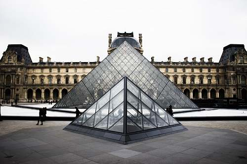 architecture Louvre Museum, Paris building