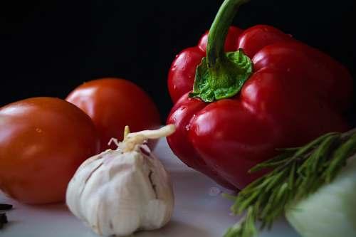 food vegetables on white surface vegetable