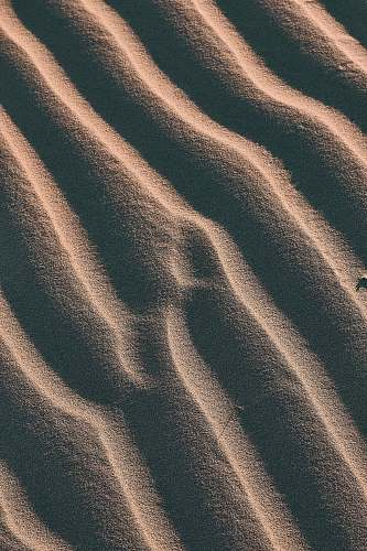 nature aerial view photography of sand outdoors