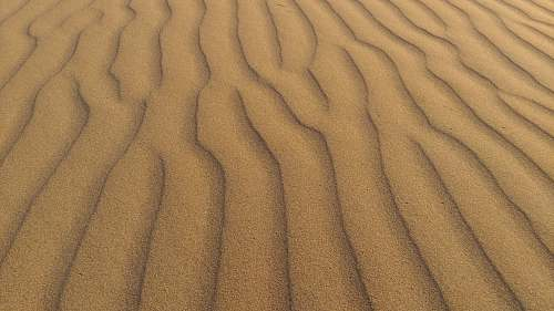 soil brown sand nature