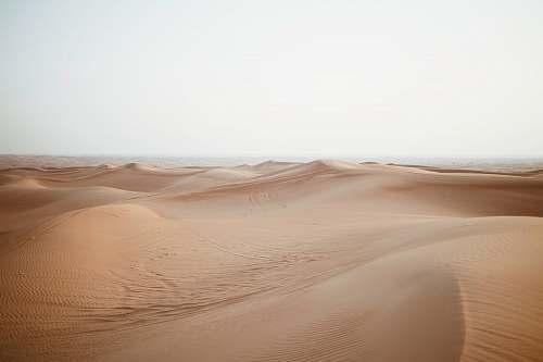 sand empty sand dunes nature