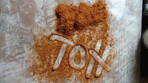 word brown powder brown