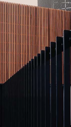 brown black and brown wooden fence strasbourg