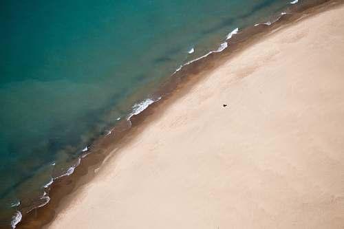 ocean aerial photography of seashore sea