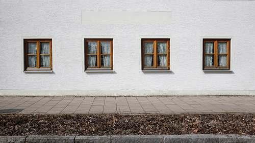 germany brown windows sidewalk