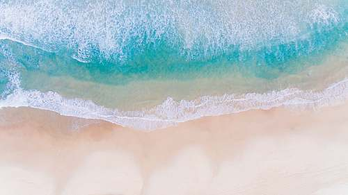 ocean aerial photo of body of water sea