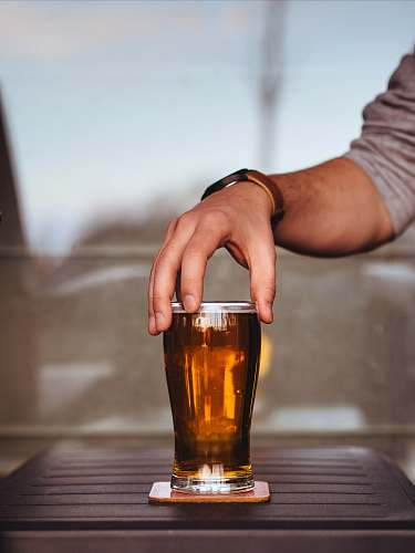 photo drink person holding glass cup glass free for commercial use images