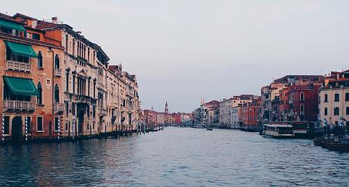 photo water architectural photography of Grand Canal Italy venice free for commercial use images