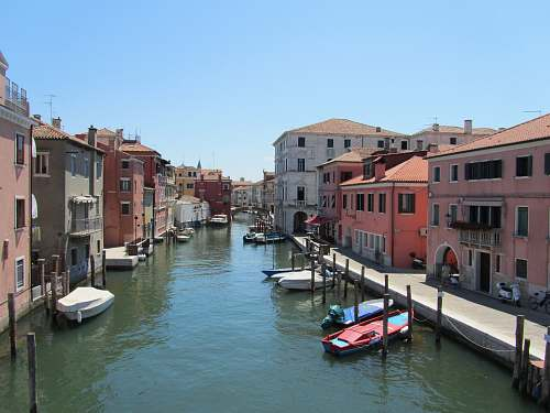 water canal surrounded by buildings during daytime outdoors