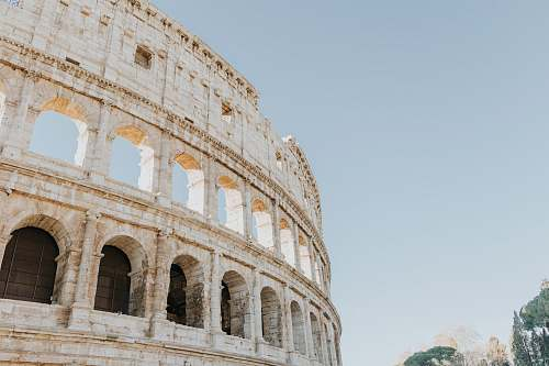 photo architecture The Colosseum Rome Italy during daytime building free for commercial use images